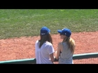 Ashley Greene at Road Dogs Game Dancing to '' Party in the USA '' !