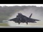 F22 Raptor Take-off at RIAT 2010