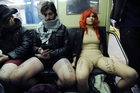 Subway riders go pantless for a day