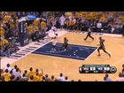 David West Amazing Pass to George Hill |Heat vs Pacers|May 28, 2013|Game 4|NBA Eastern Finals
