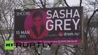 Russia: Ex-porn star Sasha Grey visits Russia's far-east
