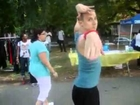 JOJO Romanoff Freestyling In Fort Greene Park (Coney Island Dancers)
