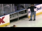 Al MacInnis Breaks the Boards