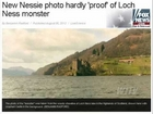 Skipper Claims He Has Proof Loch Ness Monster Is Real