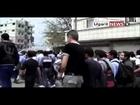 21-4 Jasim Daraa أوغاريت || مظاهرات طلاب جاسم درعا