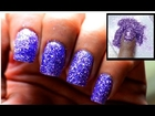 Powder Glitter Nails - Cute Glitter Polish Designs Sparkle Beginners Short Long Nail Art Tutorial