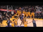 Gerald Henderson dunks on Dwight Howard: Charlotte Bobcats at Los Angeles Lakers