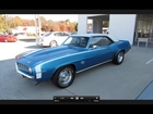 1969 Chevrolet Camaro SS 350 Start Up, Exhaust, and In Depth Tour