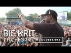 Big KRIT performs at Pitchfork Music Festival 2012