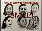 Facial Expressions- How to Draw a Smiling Face With a Pencil