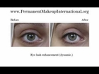 Permanent Make-up FACIAL TRANSFORMATION - Before and After Slide-show
