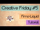 [CREATIVE FRIDAY] #5 Tutorial Fimo Liquid + Glasur mit Muster auf Cookie