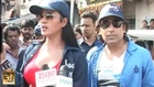 Veena Malik promotes Zindagi 50 50 in Mumbai's Red Light Area