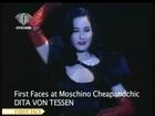 Dita von Teese - moschino cheapandchic (milan fashion show)
