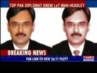 Top Pak diplomat knew US Lashkar operatives- FBI(31 Oct 2009)